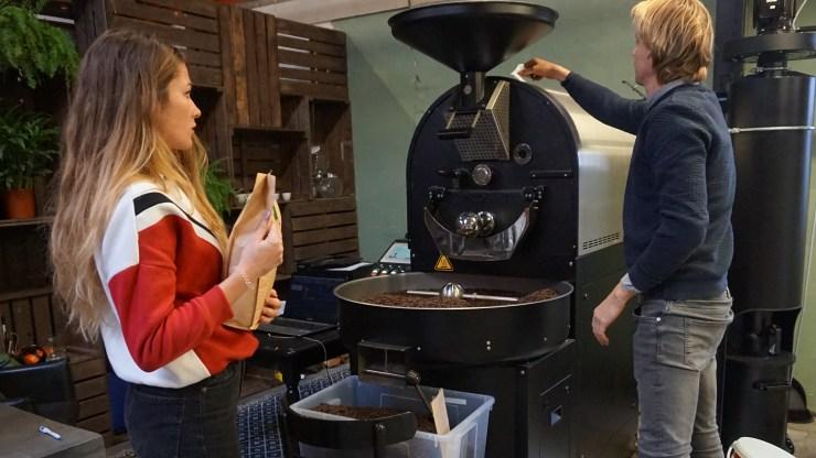 Stage Koffie Lovers opleiding MIC HVA