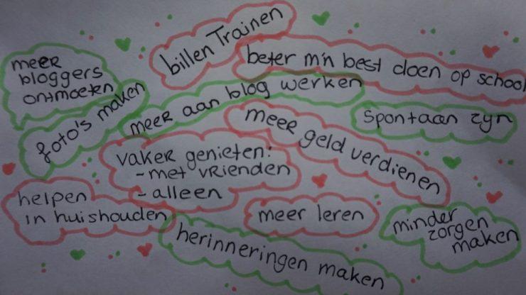 brainstormen goede voornemens