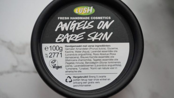 Lush angels on bare skin face wash (7)
