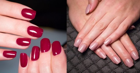Acryl nagels Freesia Nails Art Kudelstaart