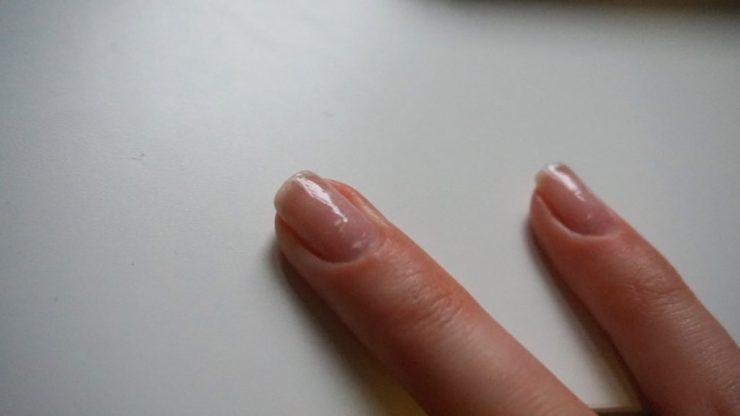 Na acryl nagels