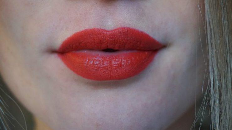 rode lippen Hema soft matte Lipbalm