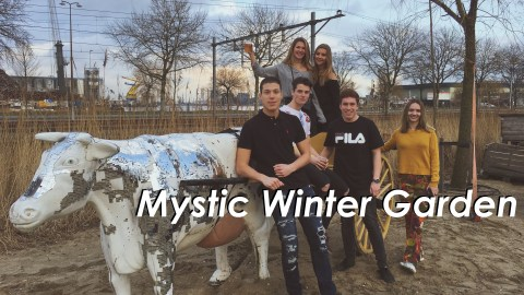 mystic winter garden vlog