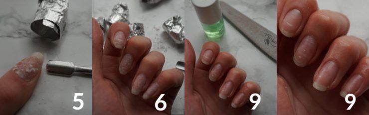 verwijderen builder gel nagels gellak
