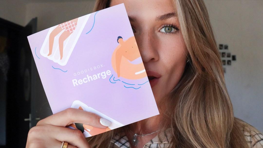 Goodiebox Augustus Recharge producten unboxing review cadeautip