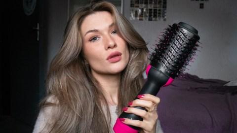 Revlon One step dryer haar föhn fohnborstel dik round brush ronde borstel het feestje van iris stijlen stylen (1)
