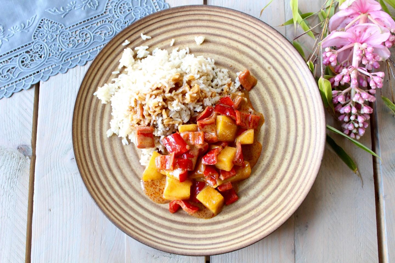 Recept | Pittige Fairtrade Curry