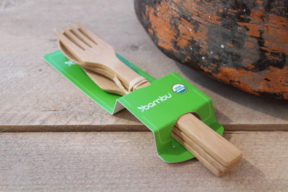 minder plastic 4 - bamboe bestek
