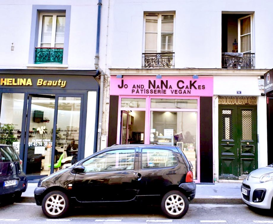vegan hotspots in parijs jo and nana cakes