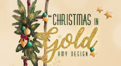 Christmas in gold