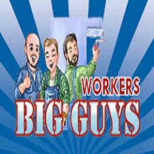 Big guys workers