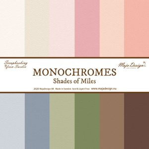 Monochromes - shades of miles