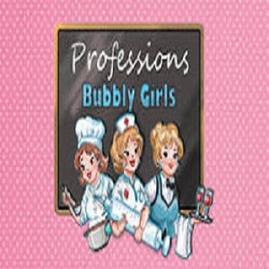 Bubbly girls - professions