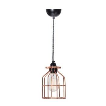 No.15 hanglamp Kooi koper
