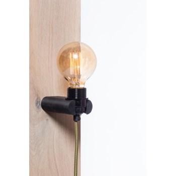No.16 wandlamp zwart