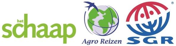 Logo's organisatie lezersreis Het Schaap