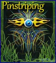 Pinstriping Artist, Jim Hetzler