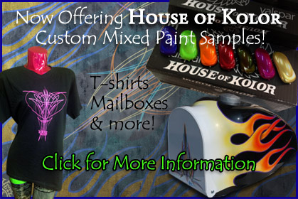 Hetz provides House of Kolor Custom Paint Mixing