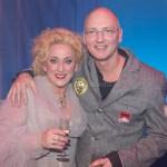 ZAANDAM, THE NETHERLANDS. FEBRUARY 14, 2017. Karin Bloemen en haar man Marnix Busstra op de foto bij de premiere van Volle Bloei met Karin Bloemen in het Zaantheater.