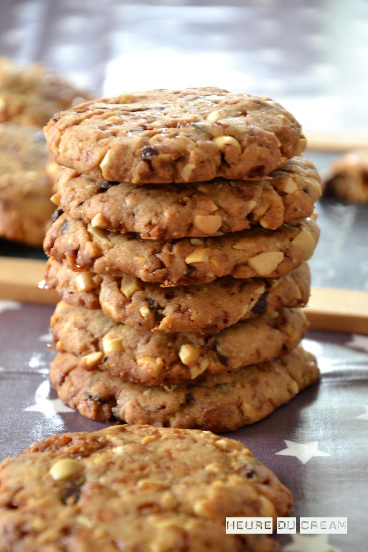 Cookies Aux Cacahutes Chocolat Et Clats De Salidou L