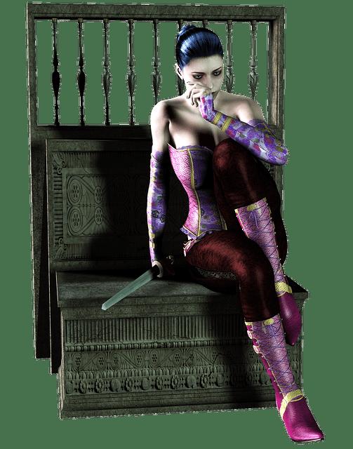 En ægte fantasy-heltinde er selvfølgelig gudesmuk og atletisk, men synes selv at hun er kedelig og klodset.
