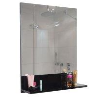 Wandspiegel mit Ablage HWC B19, Badspiegel Badezimmer ...