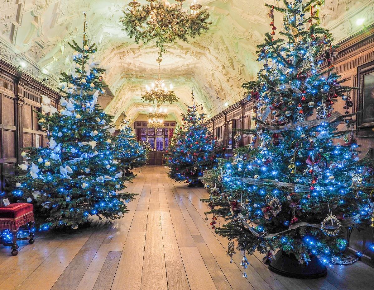 Christmas At Hever Castle In Kent 24 November 24