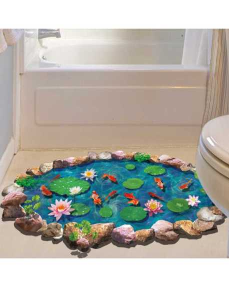 Lotus-leaf-And-Fish-Pond-3D-Floor-Stickers-For-Bathroom-Toliet-3D-Wall--Environm-800x1000