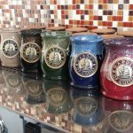 Garden of Coffee Cups