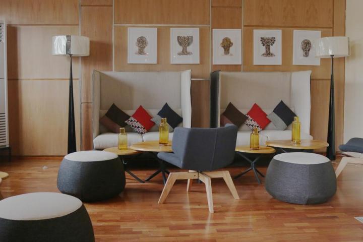 Douala Design Hôtel, vue de l'intérieur