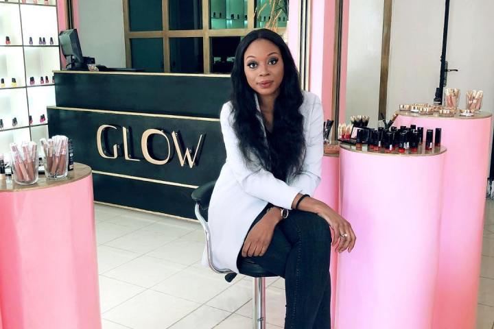 Laetitia Yota au Glow Beauty Store