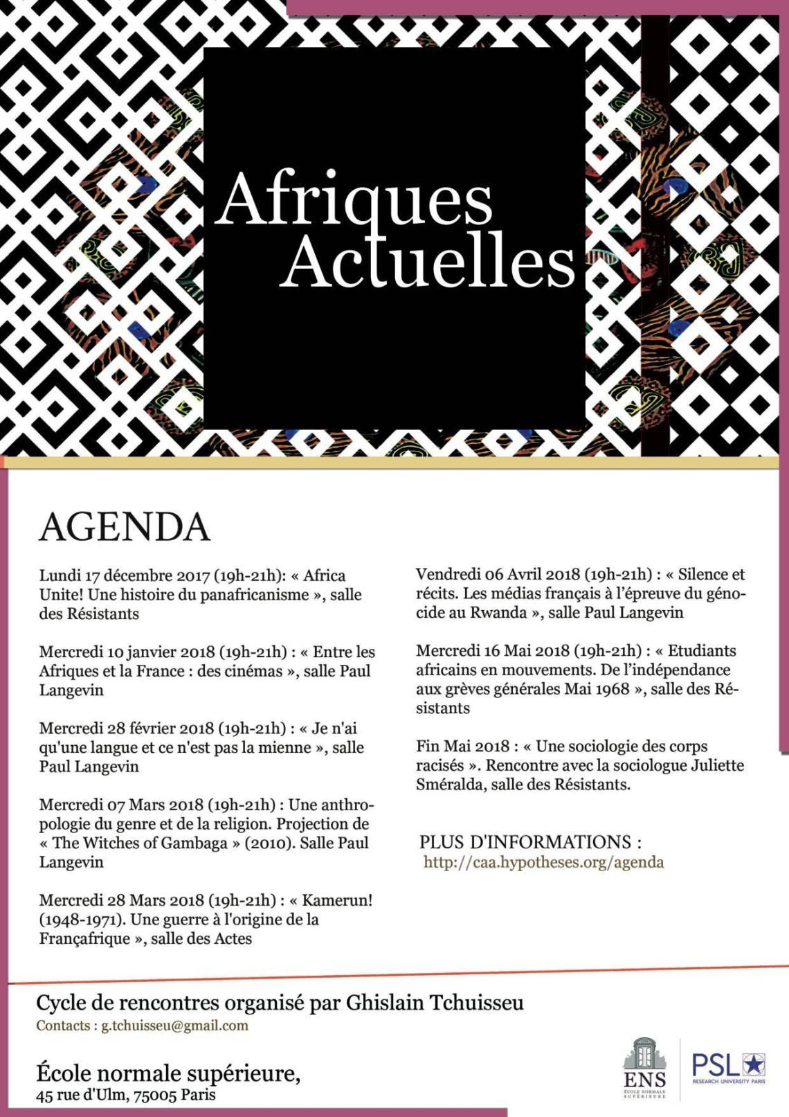 Afriques Actuelles