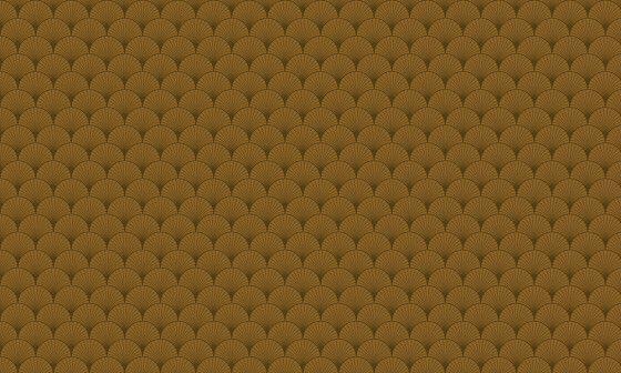 papier peint marron motif art deco