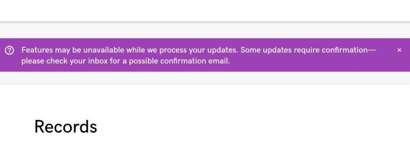 Domain-Forwarding Confirmation Message