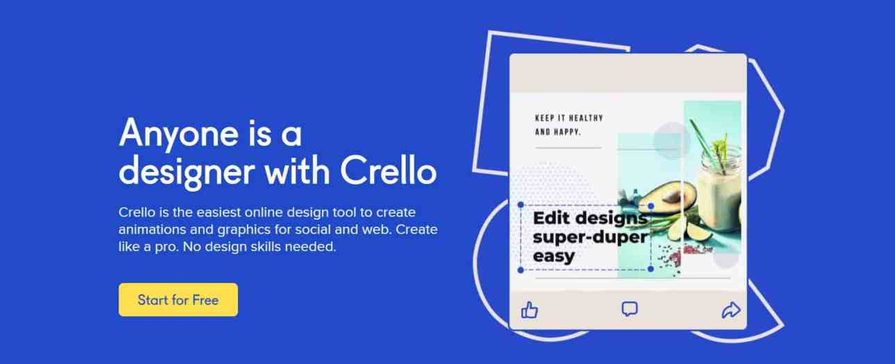 Crello: Free Graphic Design Software | Create Images Online Tool