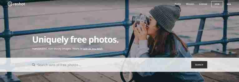 Reshot: Uniquely Free Photos