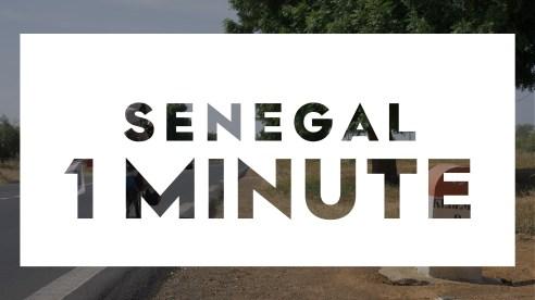 1 minute Youtube Senegal