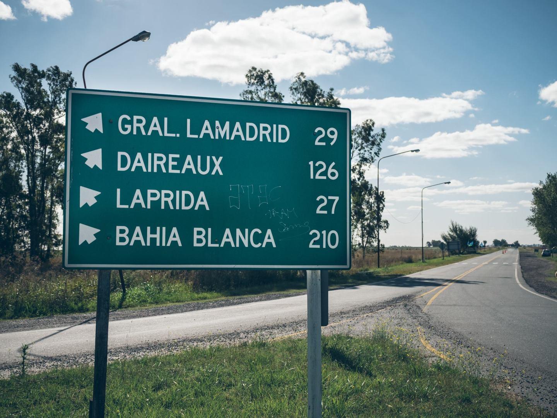 Direction Bahia Blanca