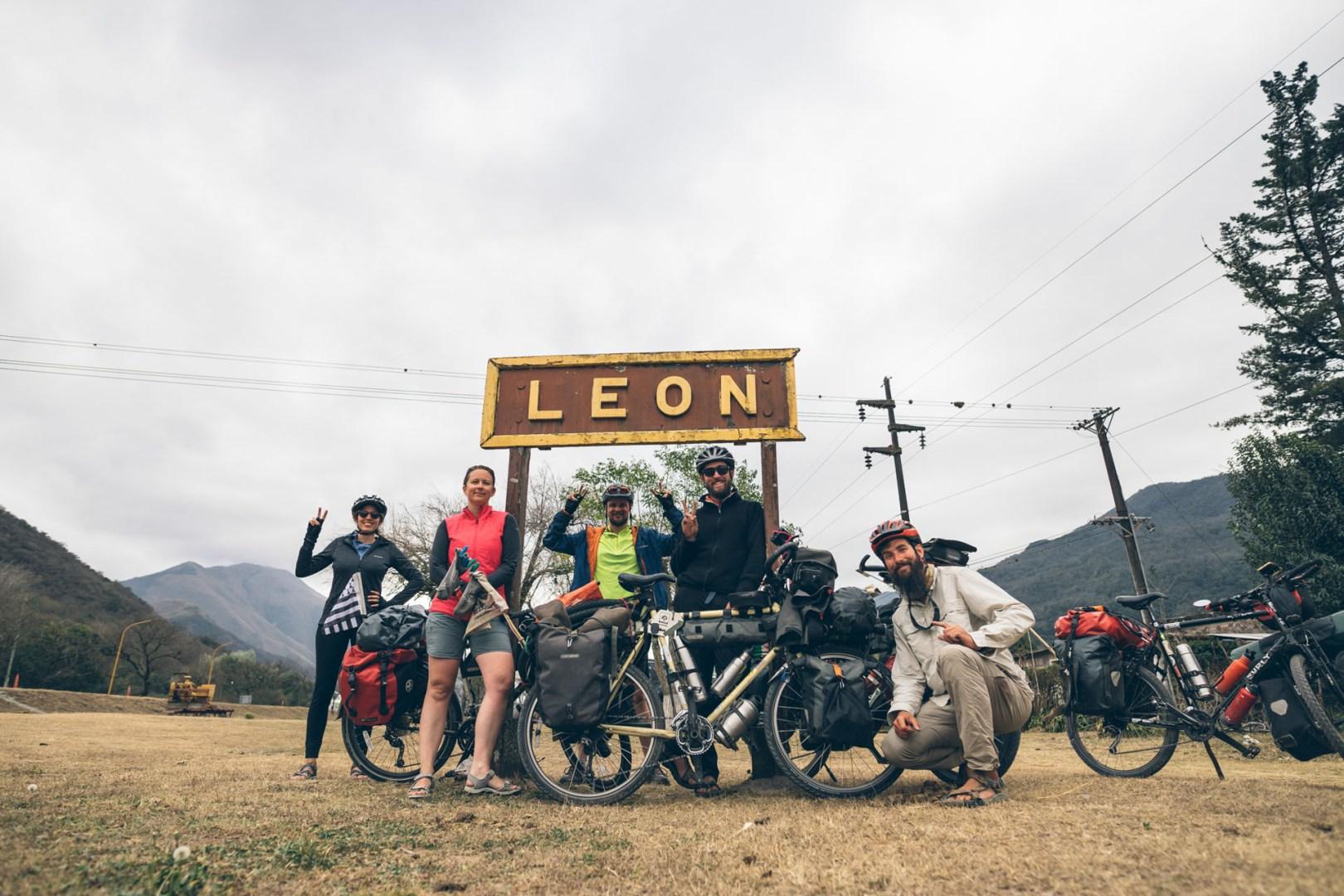 On arrive à la ville de Leon
