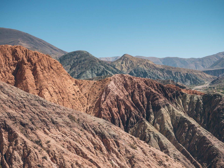 Tant de couleurs dans la montagne