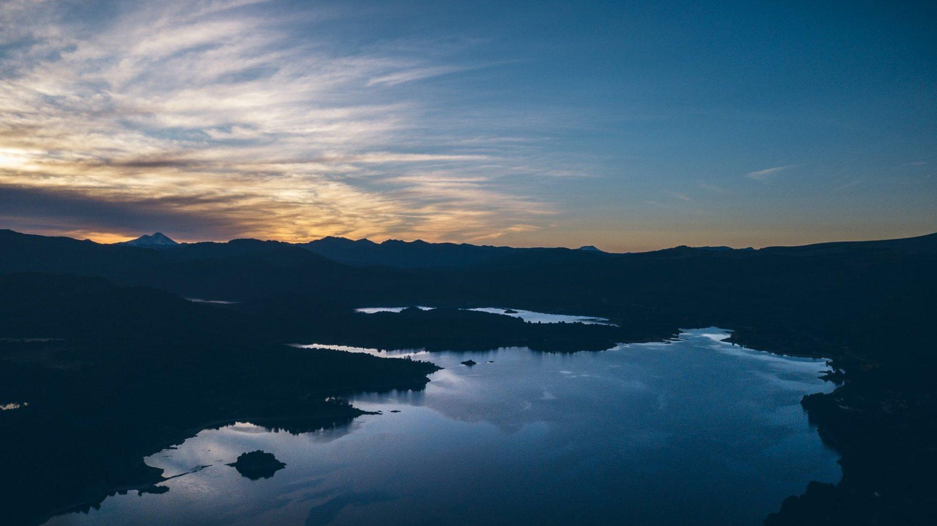 Le magnifique lac Aluminé