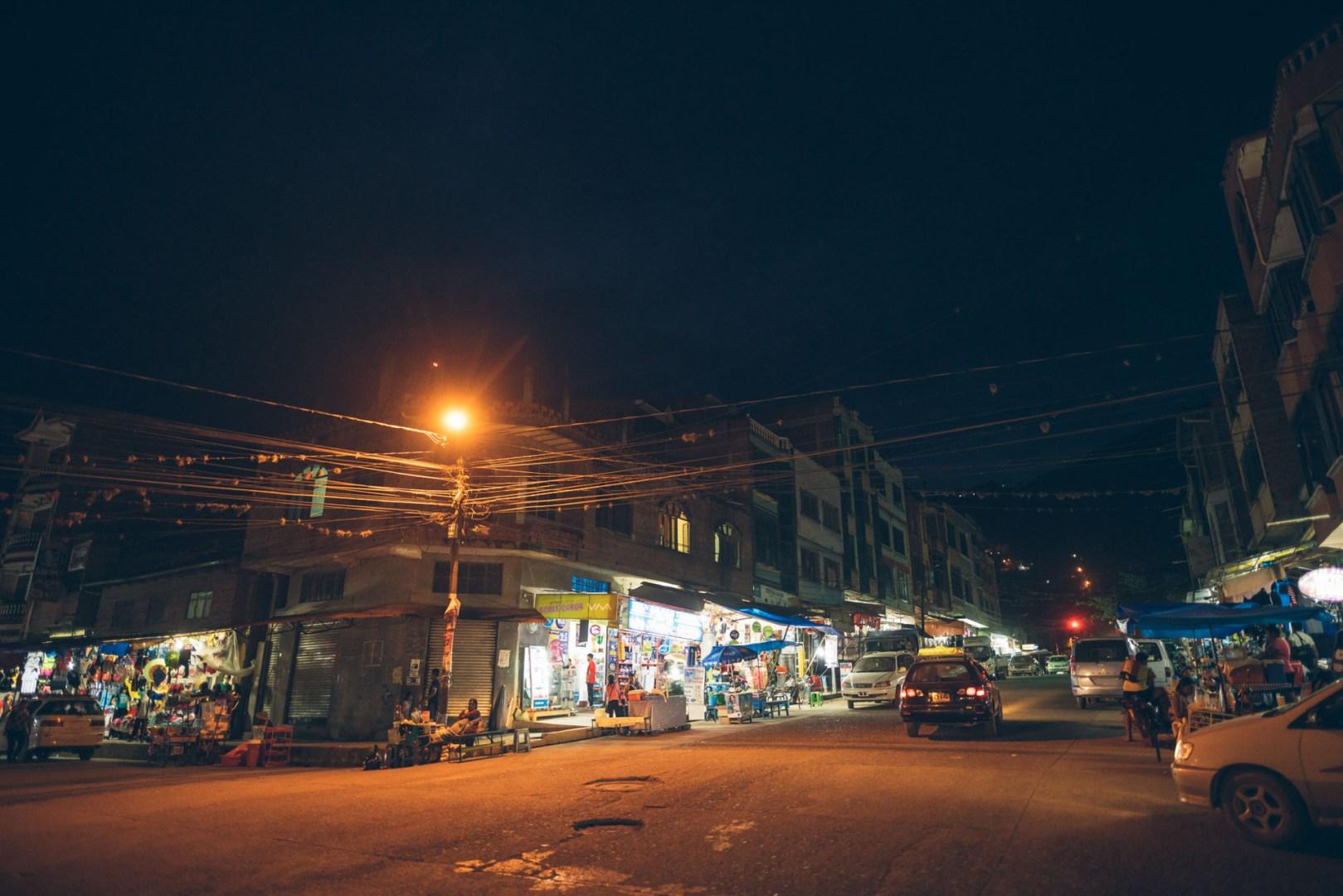 Caranavi le soir