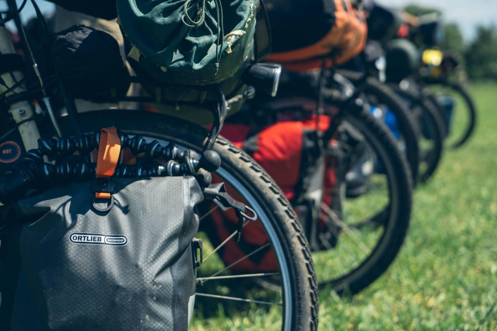 Les 6 vélos prêts pour une nouvelle étape