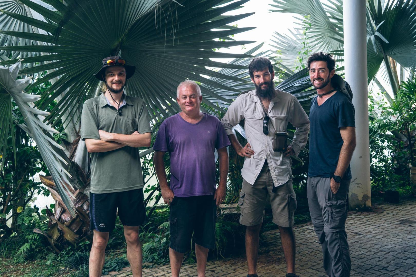 Rencontre avec Gilles à Monsuaba