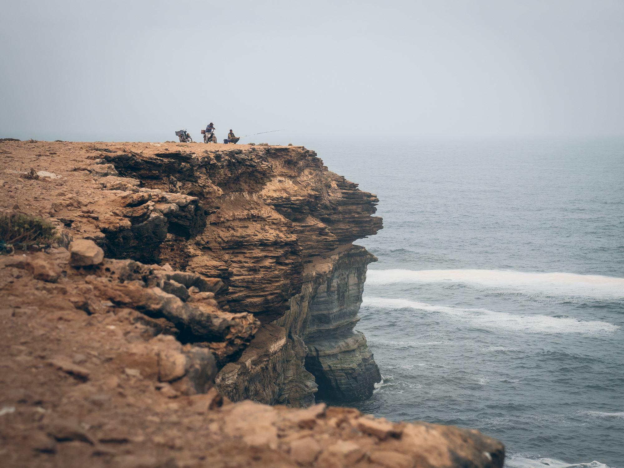 Bords de falaise