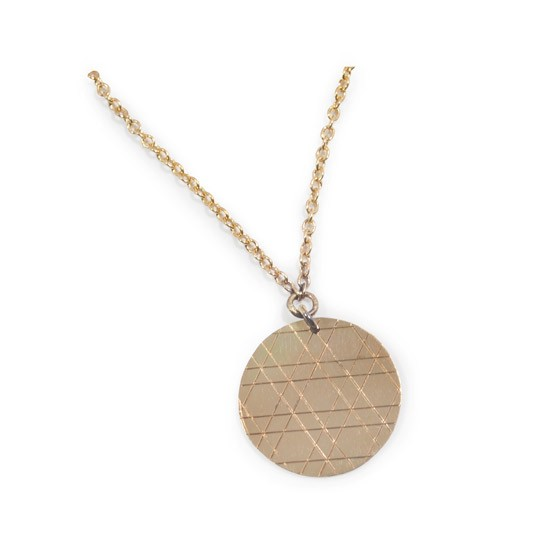 jewish star pattern necklace