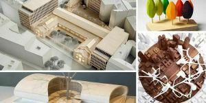 MAQUETAS ARQUITECTÓNICAS profesionales ▏ MATERIALES de arquitectura
