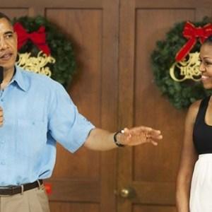 Barack Obama Michelle Obama Hawaii