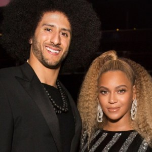Colin Kaepernick Beyoncé Natural Hair