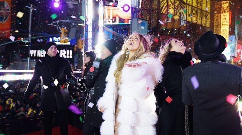 Mariah Carey New Year's Eve Performance